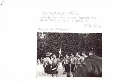 SAN GIORGIO Regionale MODENA 1 a SPEZZANO 1952